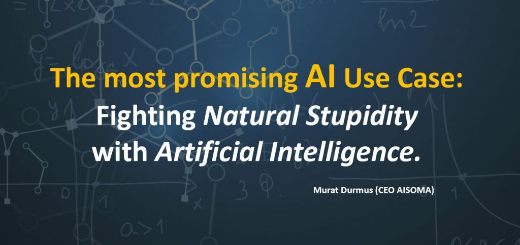 The most promising AI Use Case